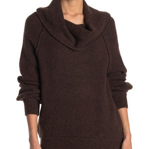 Free People Echo Beach Cowl Neck Sweater